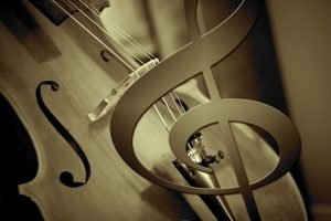 cello and treble clef