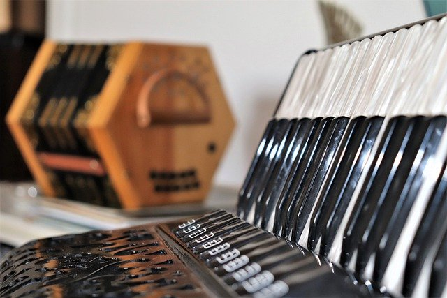 Accordion and concertina