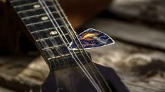 Mandolin and Pick