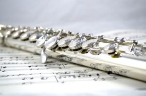 Flute on music