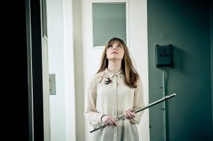 Sarah Hayes and Flute