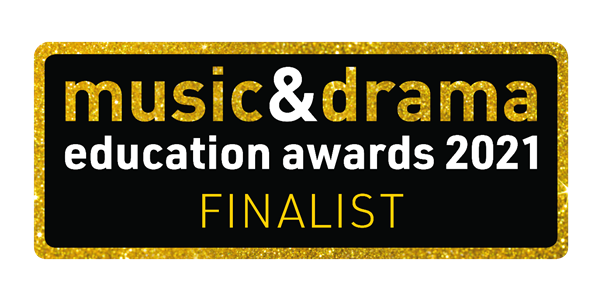 Music and Drama Awards 2021 Finalist logo
