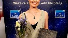 Jenna Reid and award